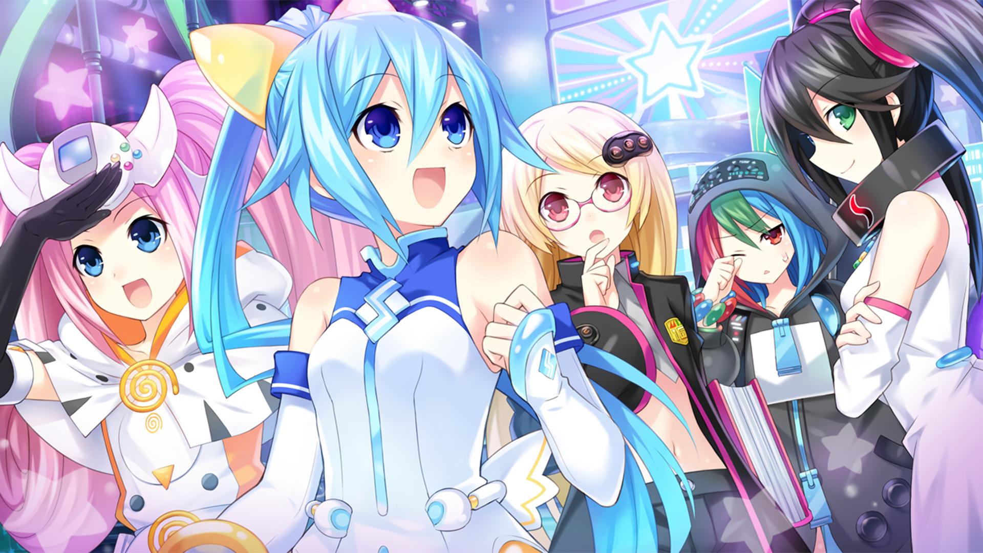 Superdimension Neptune VS SEGA Hard Girls Wallpaper 018